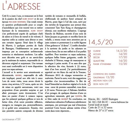 Gastromania - Article - Réduit